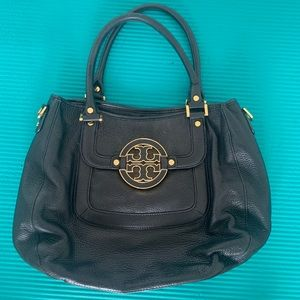Tory Burch purse black leather shoulder bag